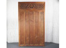 Antigua puerta de Indonesia