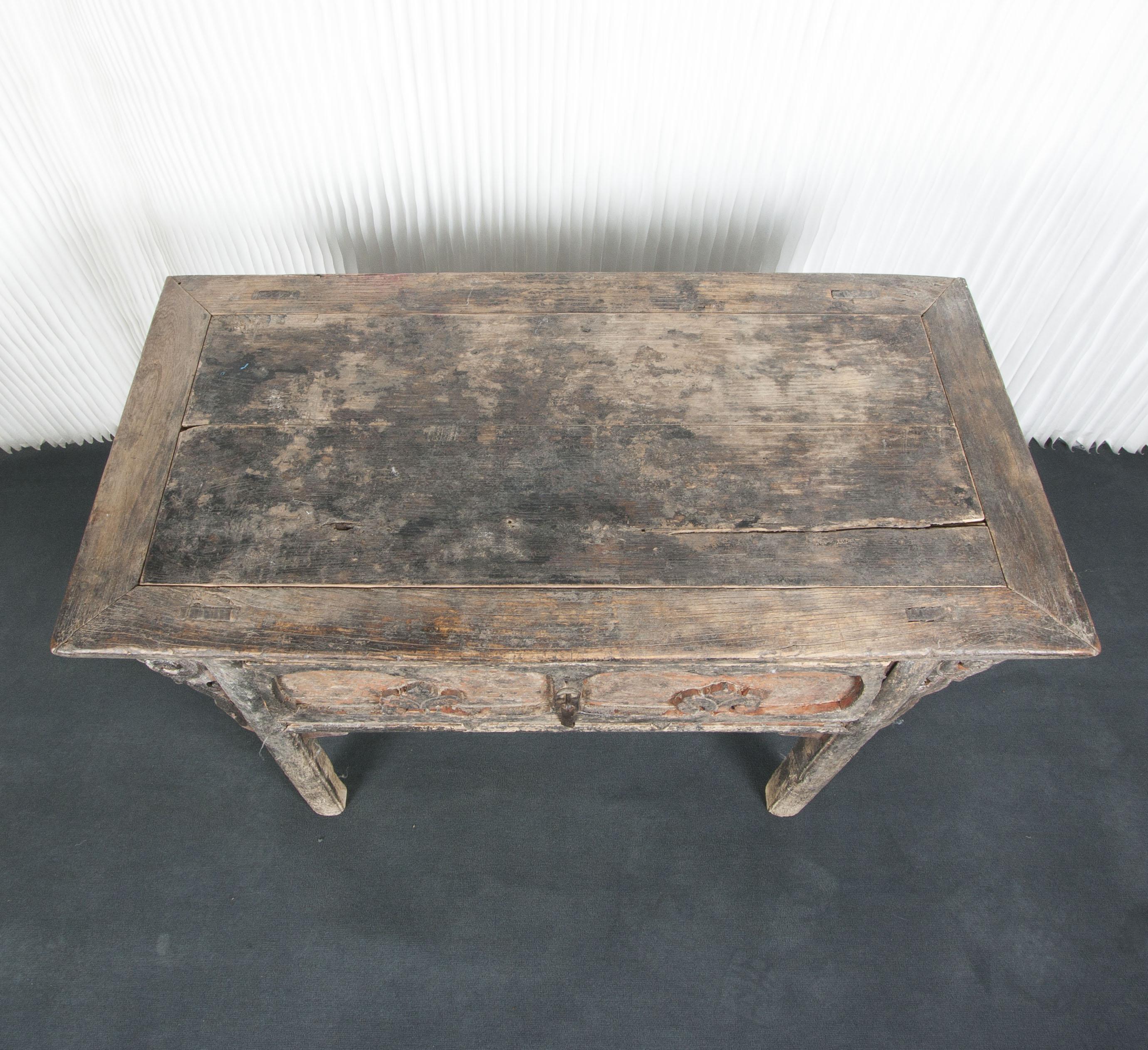 Consola china antigua