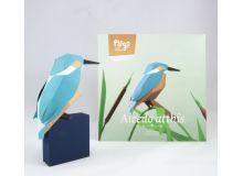 Pájaro Alcedo Atthis - azul celeste