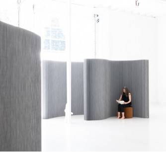 Biombo softwall textile aluminum *molo design