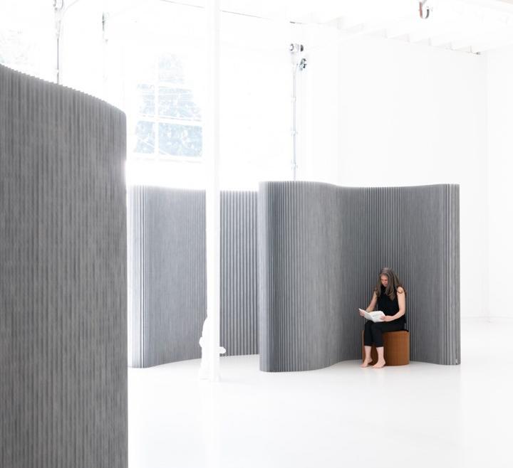 Biombo softwall textile aluminum *molo design