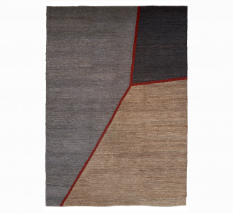 Alfombra Fields Red
