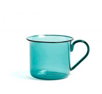 Taza Borosilicate Aqua