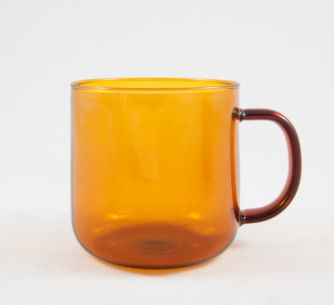 Taza Borosilicate Amber