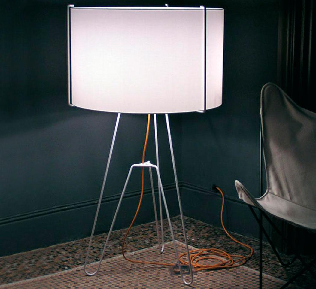 Lámpara de pie 3x3