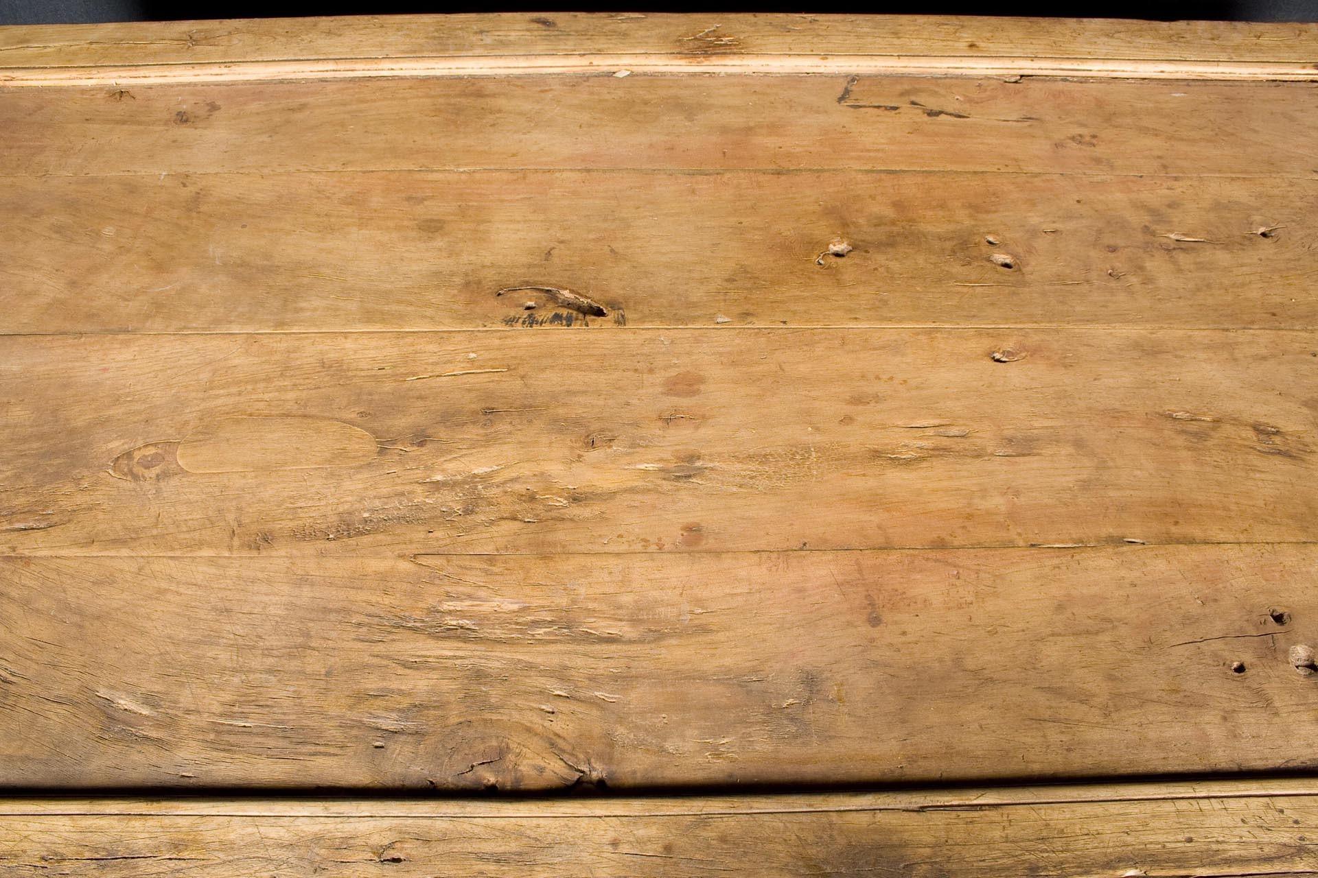 Mesa de centro decapada
