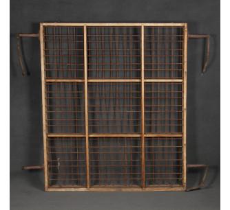 Panel harinera antiguo