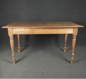 Mesa/escritorio de teca