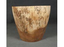 Taburete de madera redondo