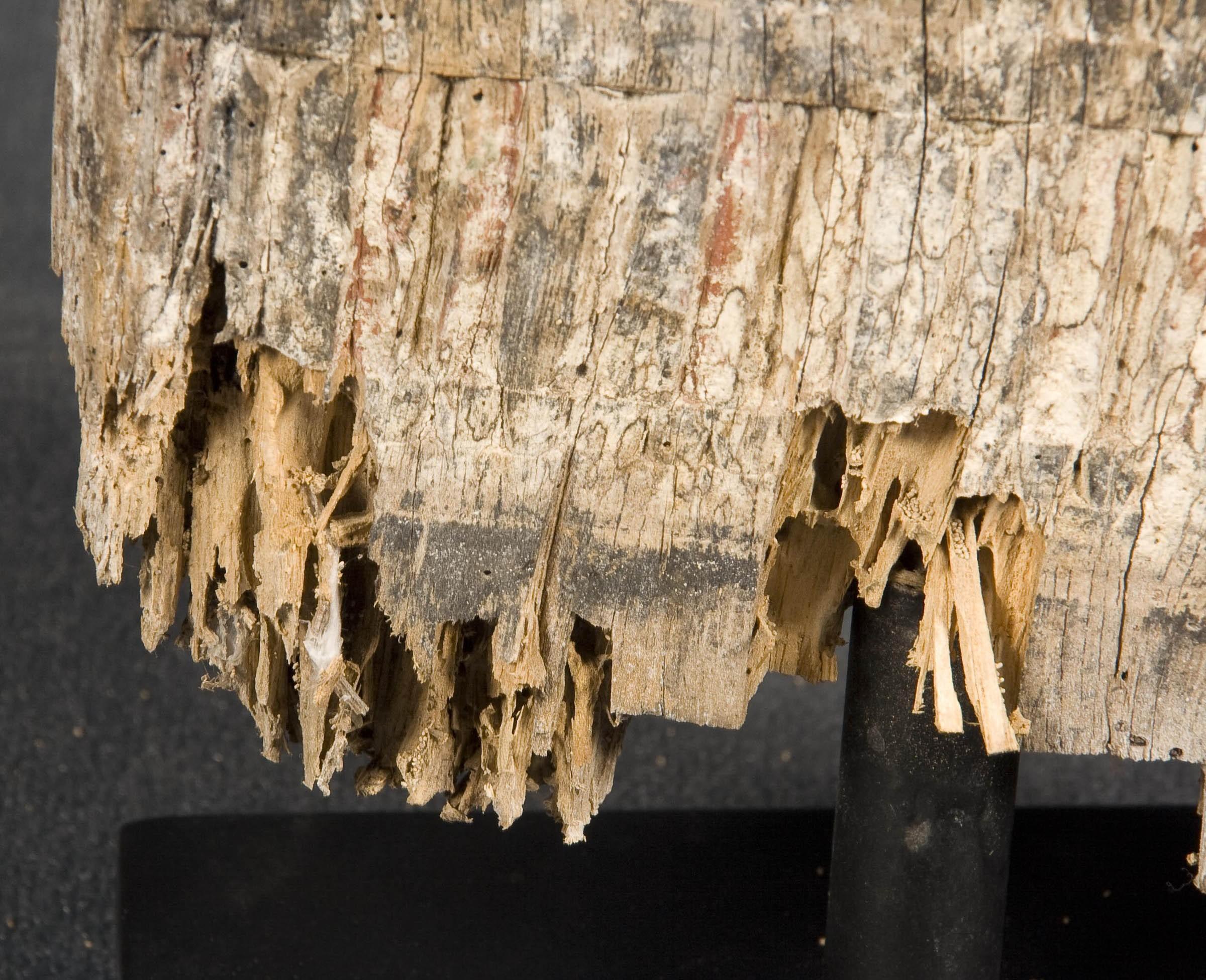 Escultura vertical de toraja