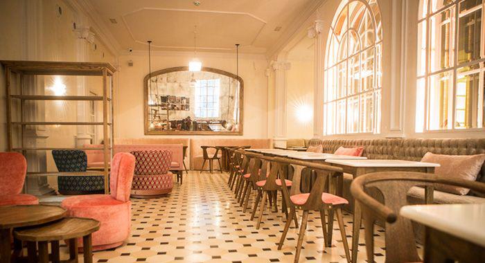 Proyecto de decoración del restaurante Lateral de Barcelona