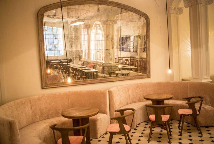 Proyecto de interiorismo en el restaurante Lateral de Barcelona