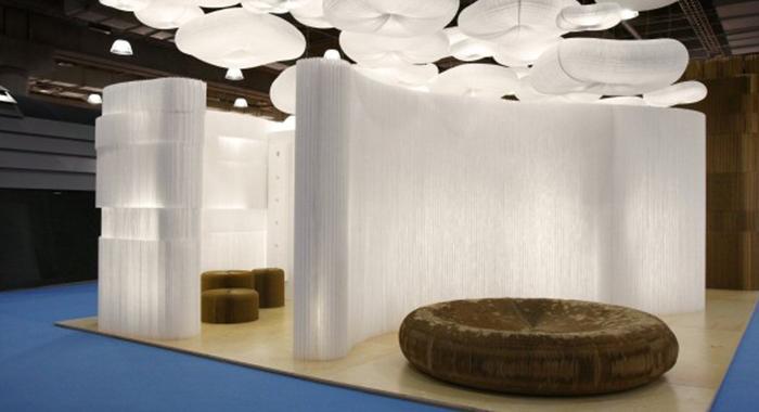 Estructura Softwall y asientos Molo Design Batavia