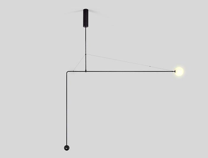 detalle lampara mamobile chandelier de michael anastassiades