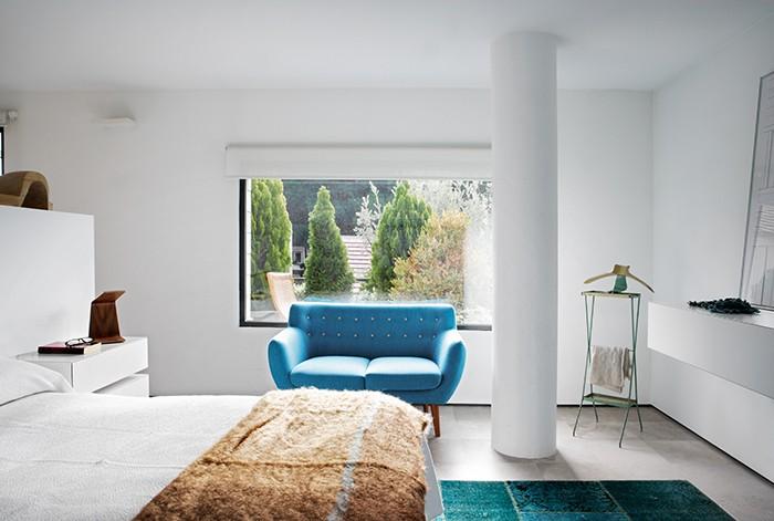 sofa 2 plazas Holden de Verzelloni en proyecto BATAVIA