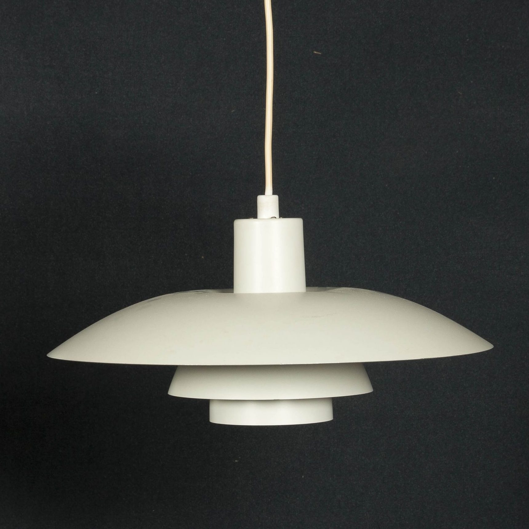 lampara de techo danesa original de los 50