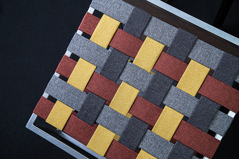 Detalle tela de diseño nórdico