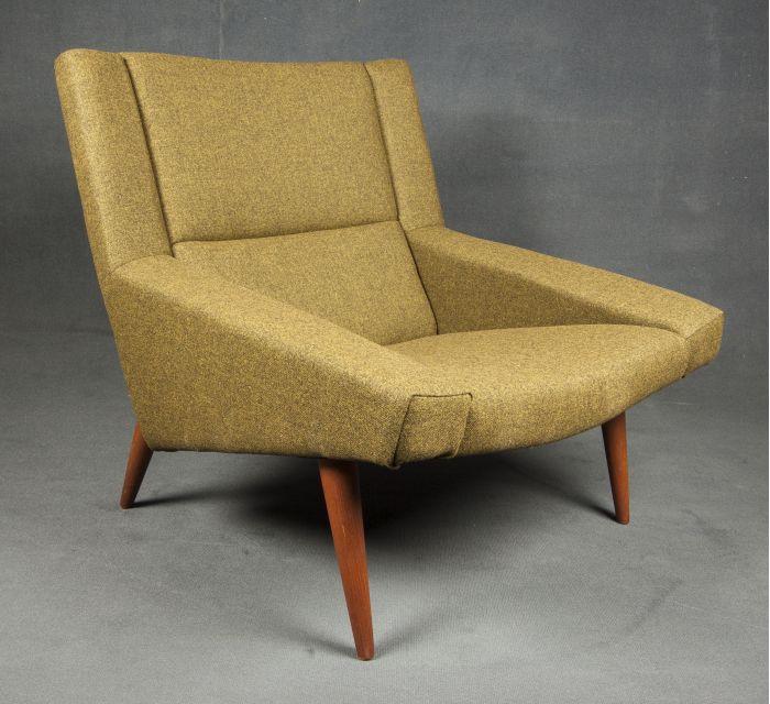 Butaca años 50 con un estilo retro muy marcado.