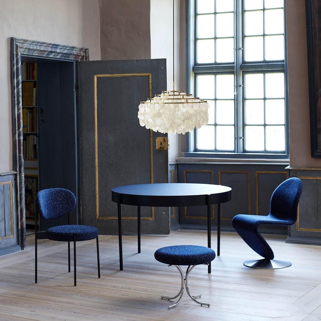 Lámpara diseñada por Verner Panton.