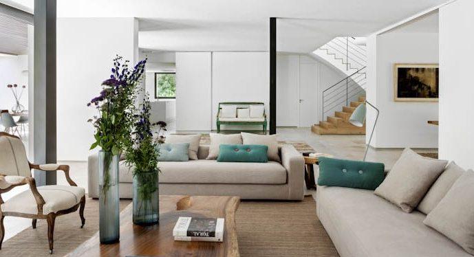 Imagen de sofá en proyecto BATAVIA.