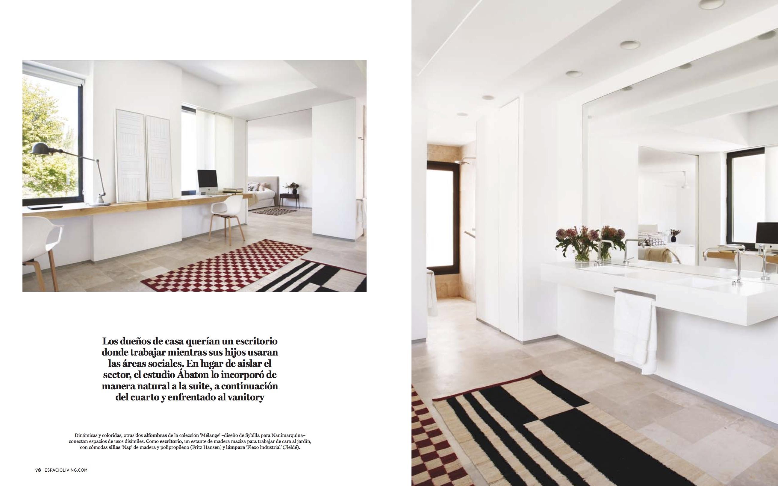 Proyecto de interiorismo de batavia en la revista for Carrera de interiorismo y decoracion