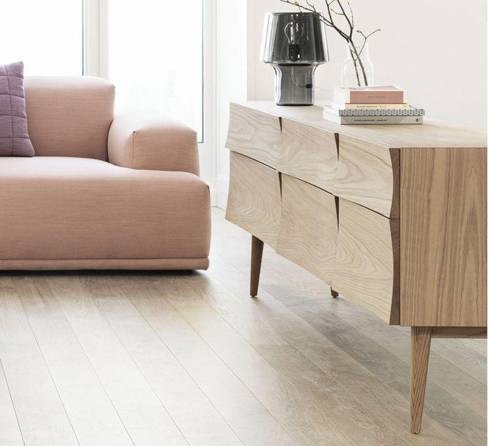Mueble estilo nórdico de madera