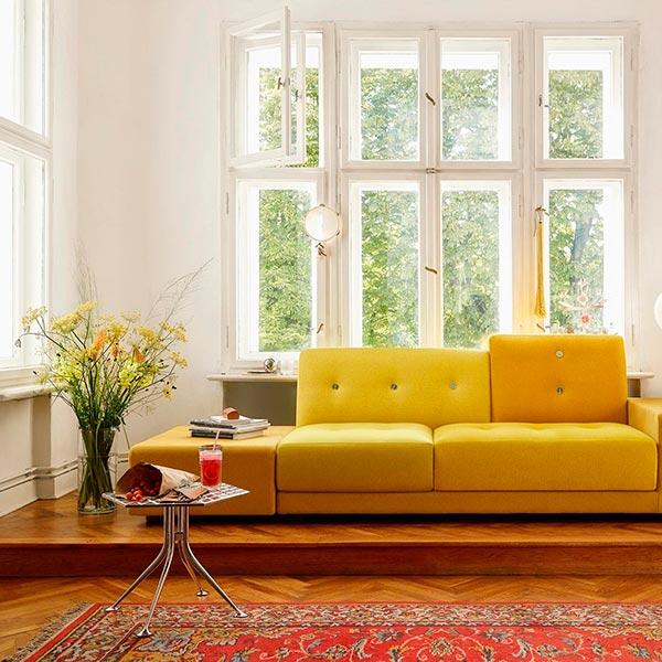 muebles años 60, Mesa hexagonal vitra años 60