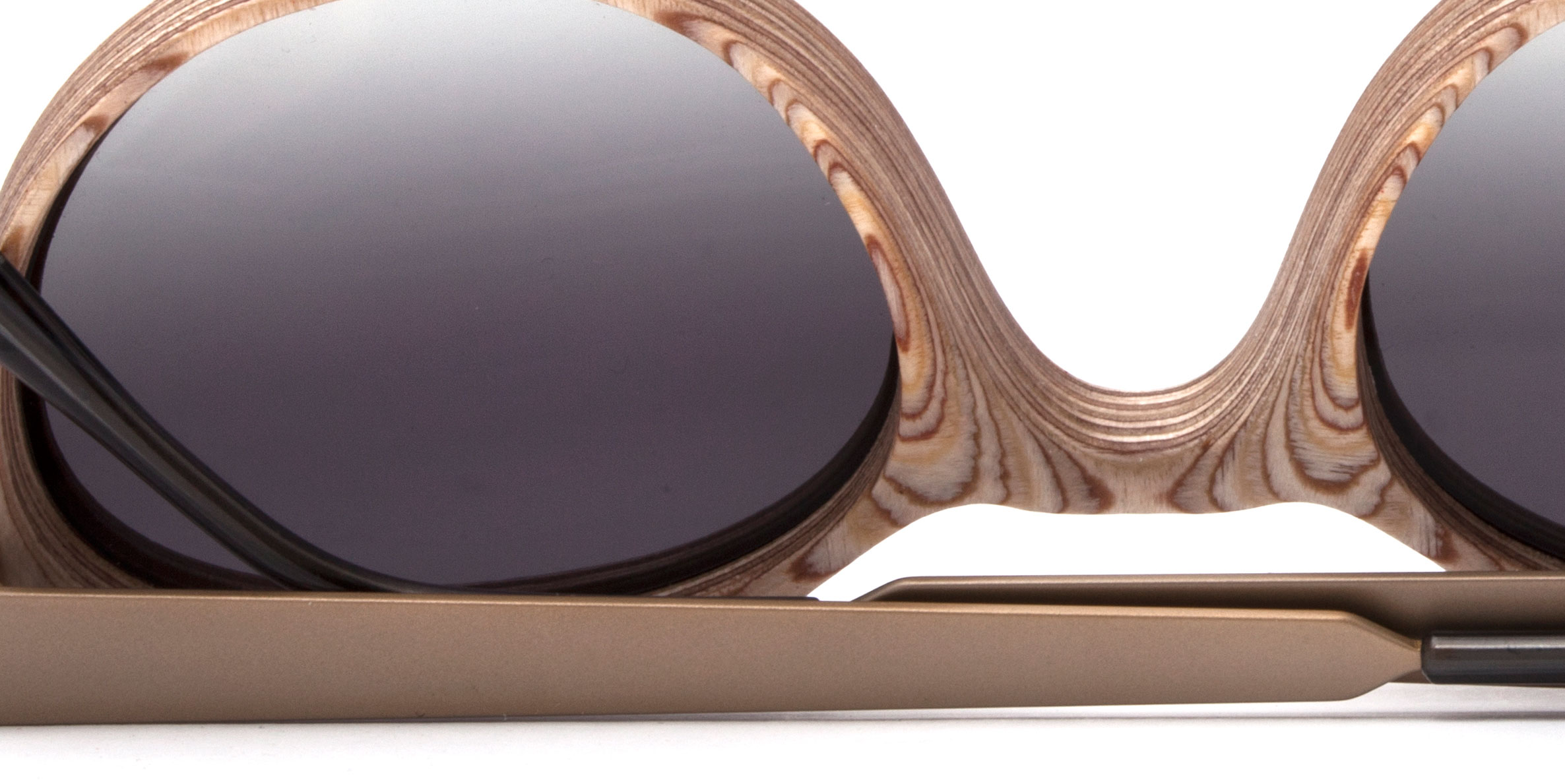 Gafas Nina Mur de madera eco-friendly