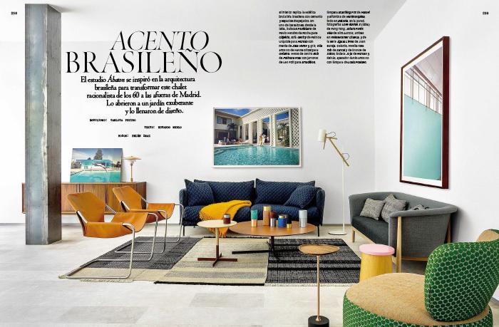 Casa l un proyecto de interiorismo batavia en la revista ad blog de muebles y decoraci n - Estudios de interiorismo y decoracion ...
