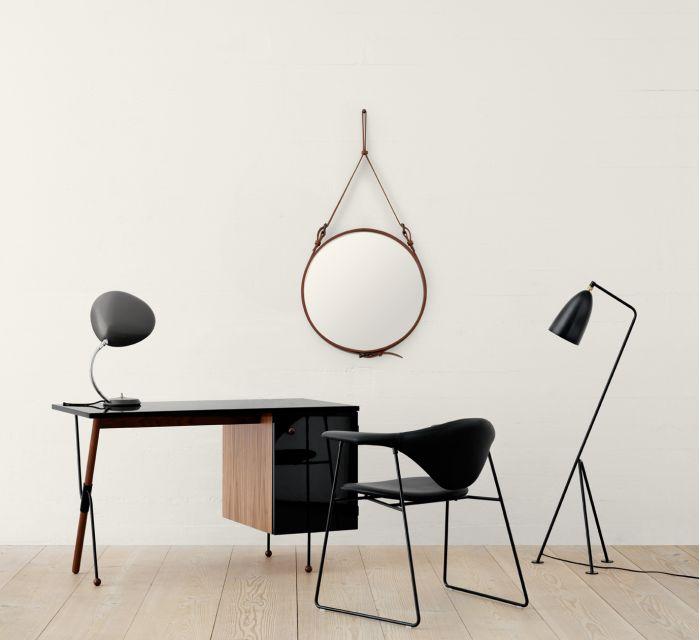 espejo de diseño para el salon Adnet