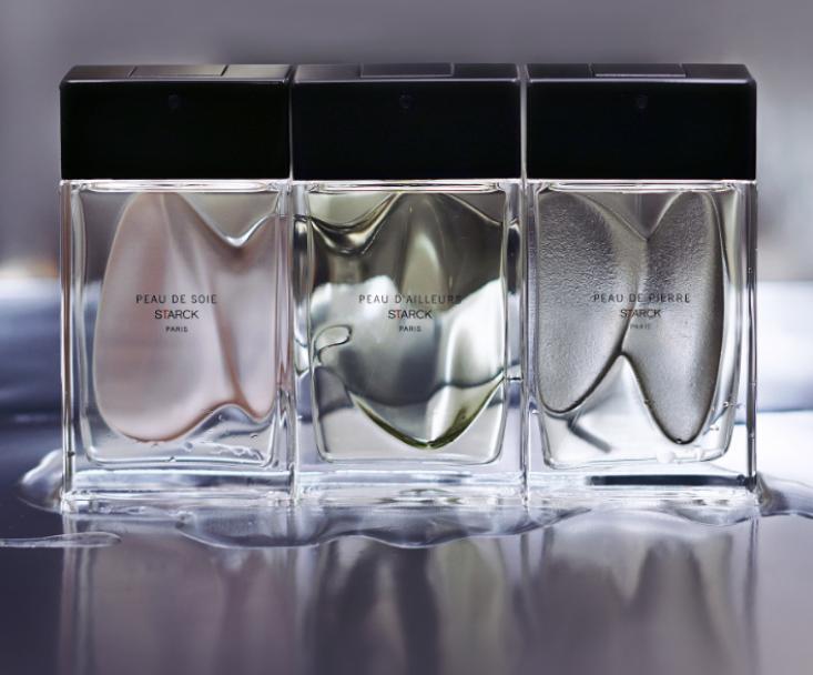 Los tres perfumes de la nueva colección Starck Paris