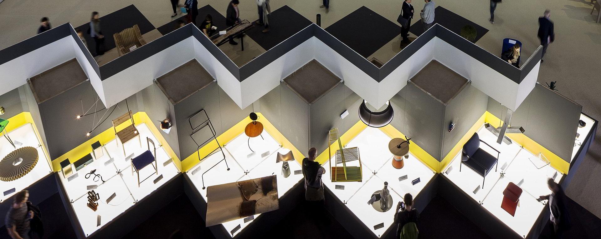 imagen general de la feria del mueble de milan 2017