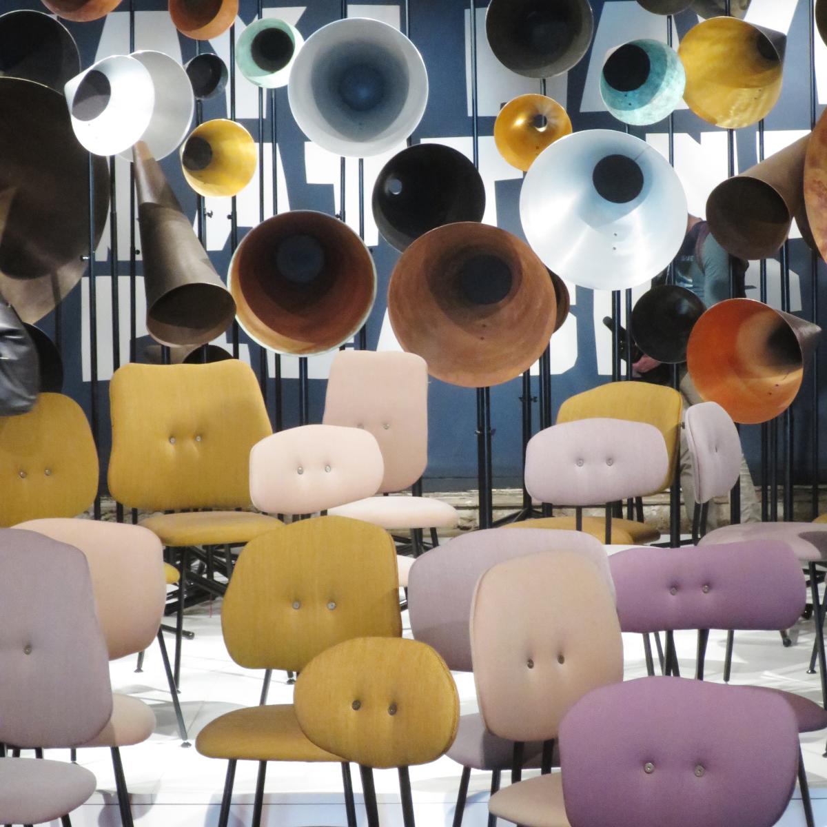 101 Chair de Maarten Baas en la feria de Milán