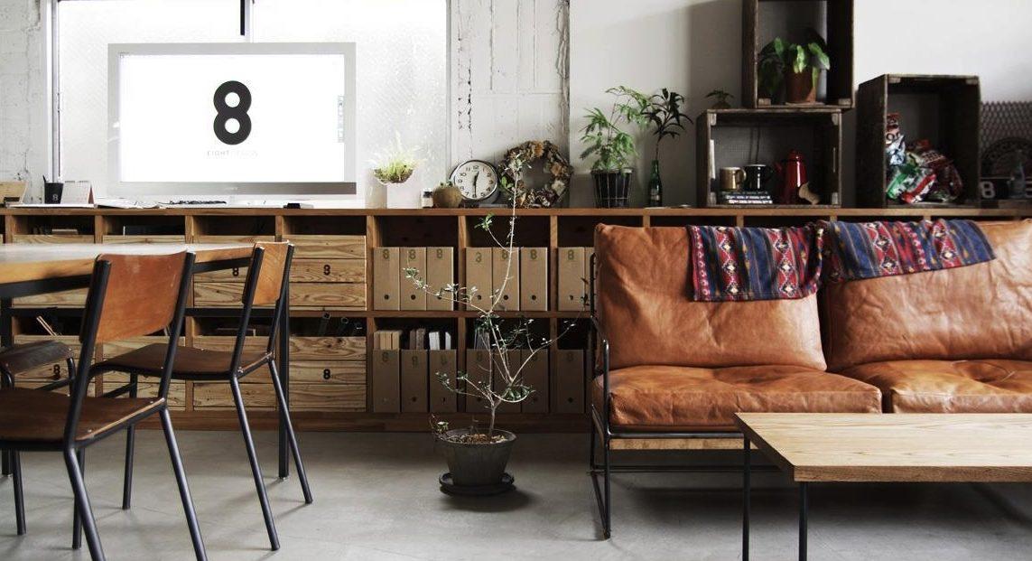 Salon con decoracion vintage mas de moda que nunca