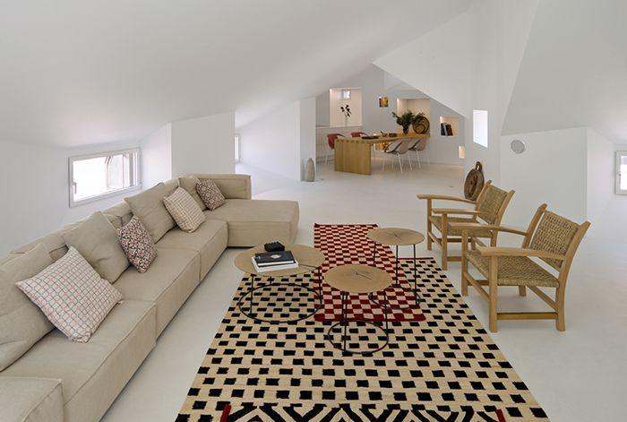 Proyecto BATAVIA con alfombras con estilo Nanni Marquina