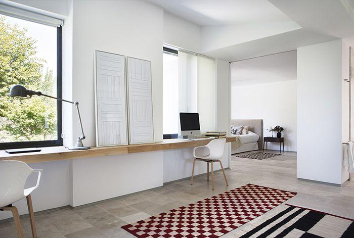 Proyecto BATAVIA con alfombras de estampado geometrico de nani marquina