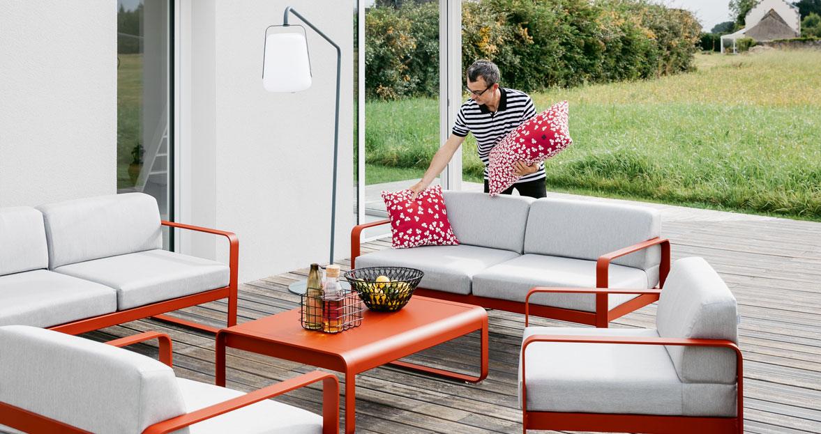 Sofa Bellevie de Fermob disponible en batavia