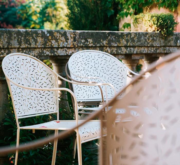 Sillas de exterior Rendez - Vous en jardín