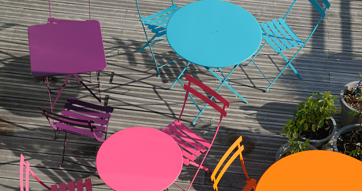 Colección de muebles de exterior Bistro