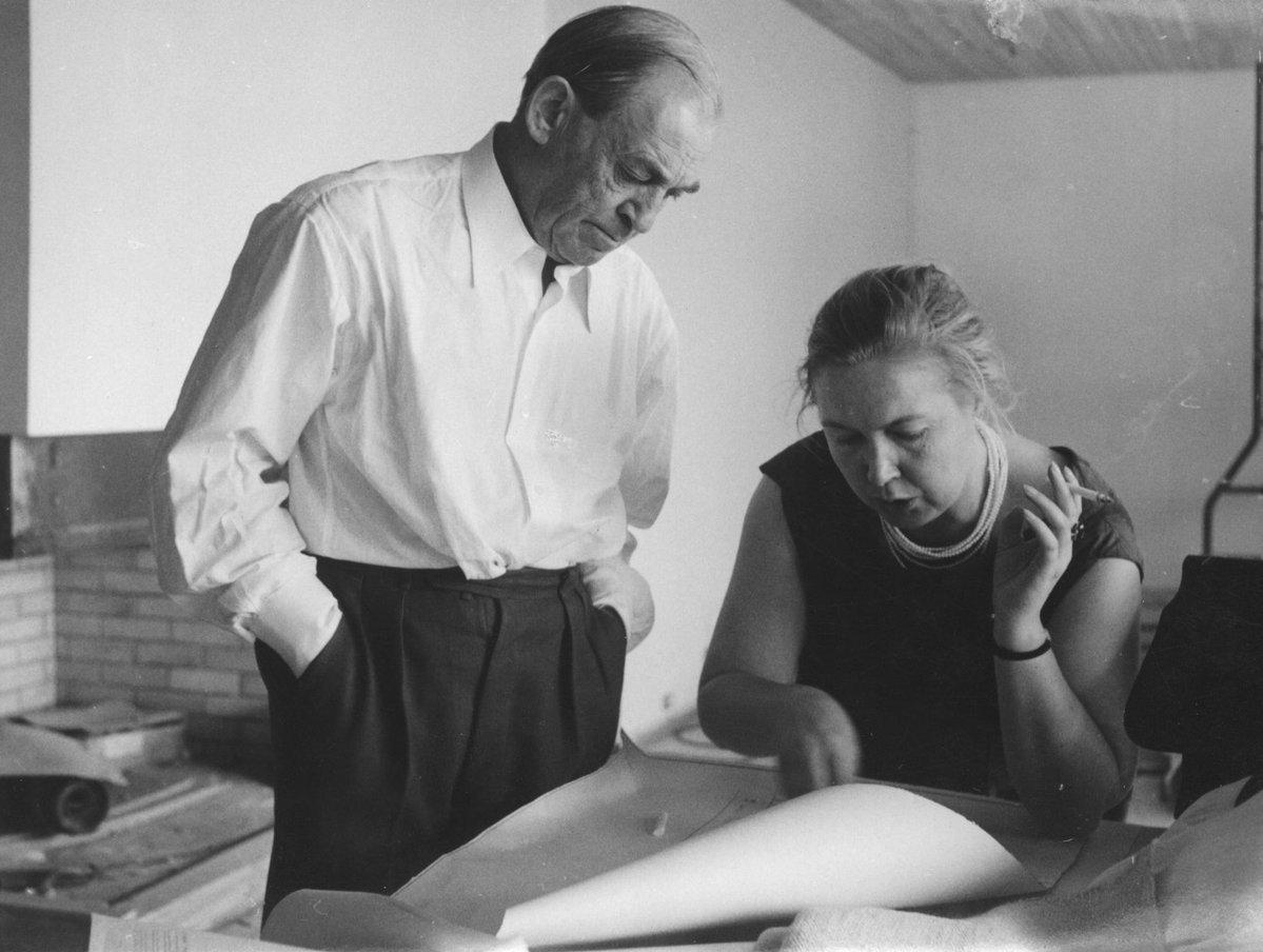 imagen de Alvar y Elissa Aalto