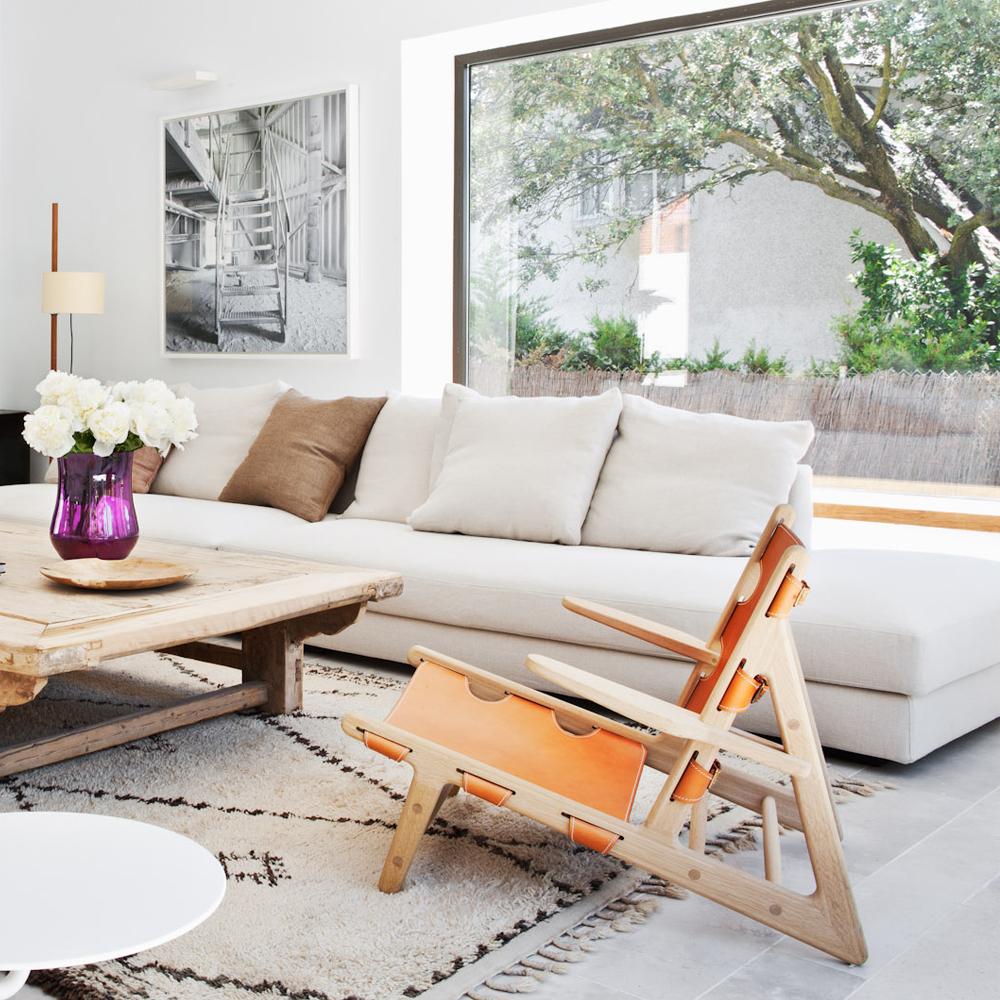 Sofá de diseño en proyecto BATAVIA