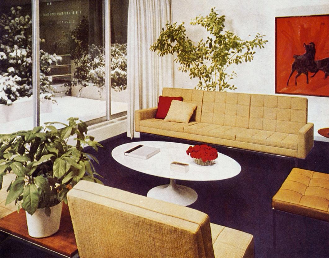 sofa florence de knoll