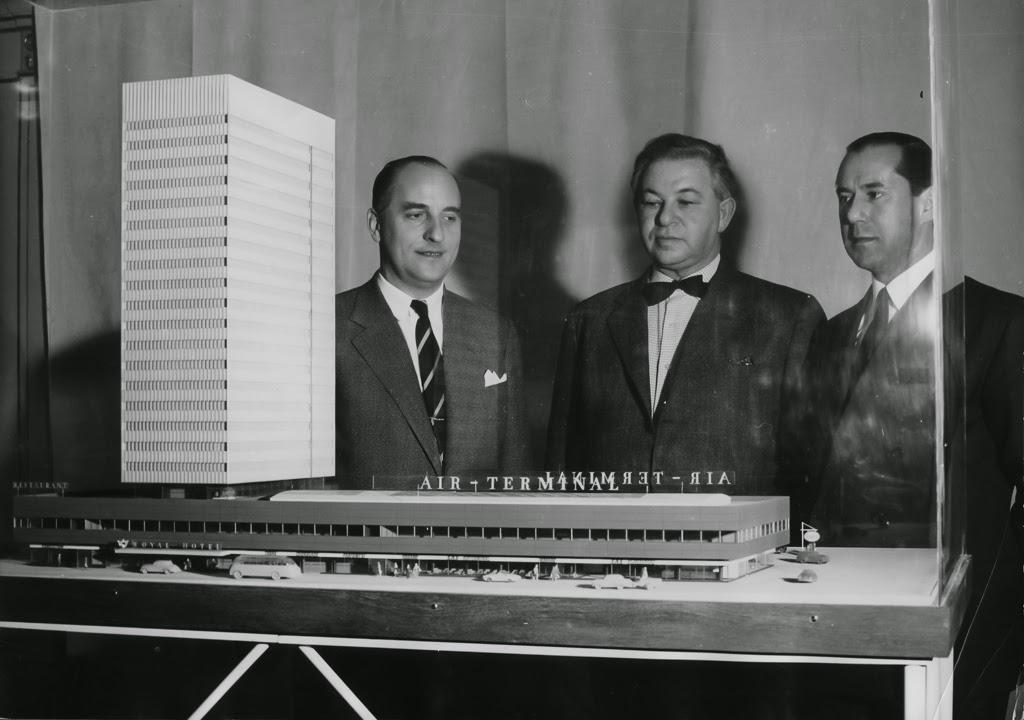 Maqueta del Royal Hotel de Copenhague de Arne Jacobsen