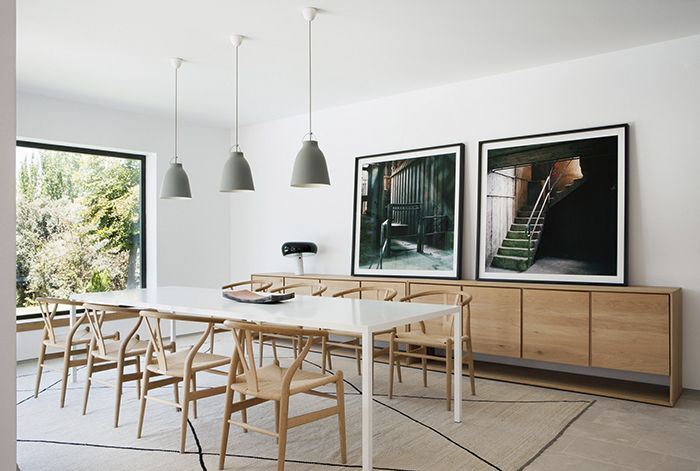 Mesa de comedor proyecto Camino Alto