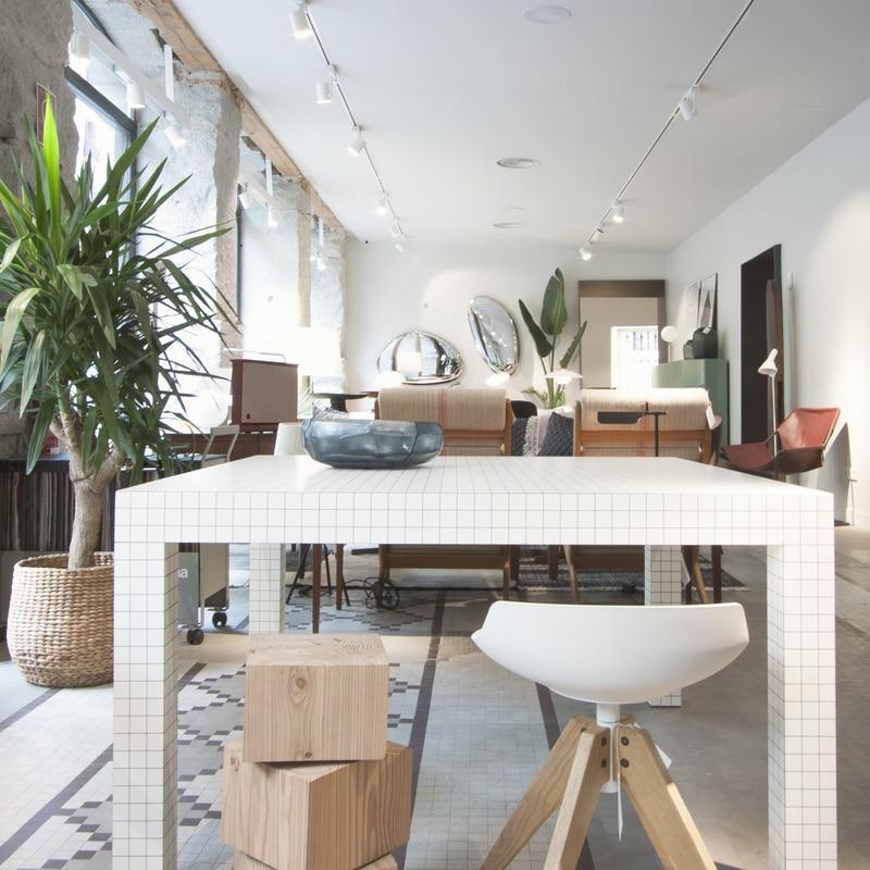 Mesa de comedor Quaderna de Zanotta