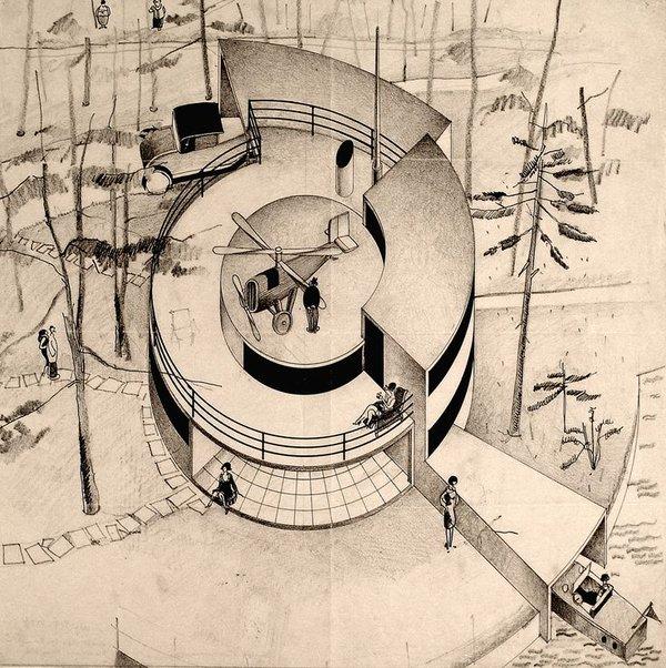Proyecto la Casa del futuro diseñada por Arne Jacobsen