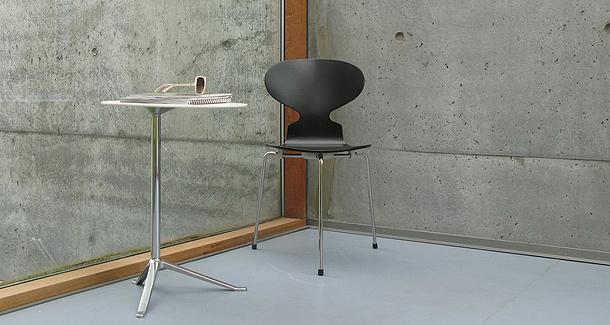 detalle de la silla ant