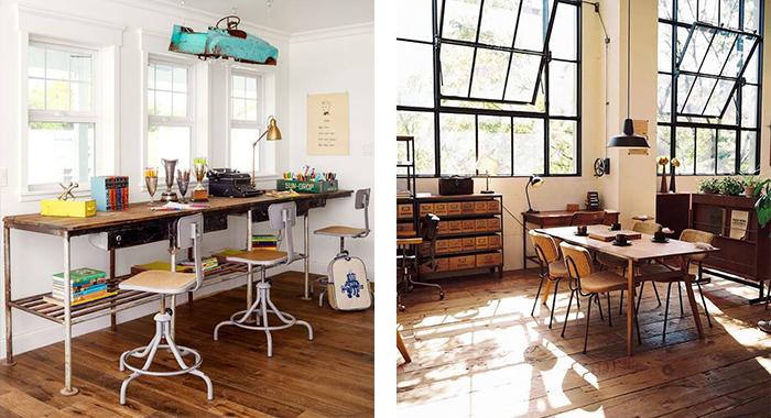 ejemplo de muebles vintage