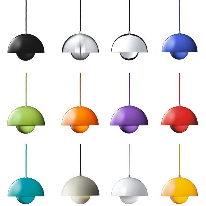 Todos los modelos de la lámpara Flowerpot, de la marca &Tradition