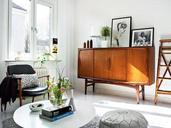 escritorio danés vintage